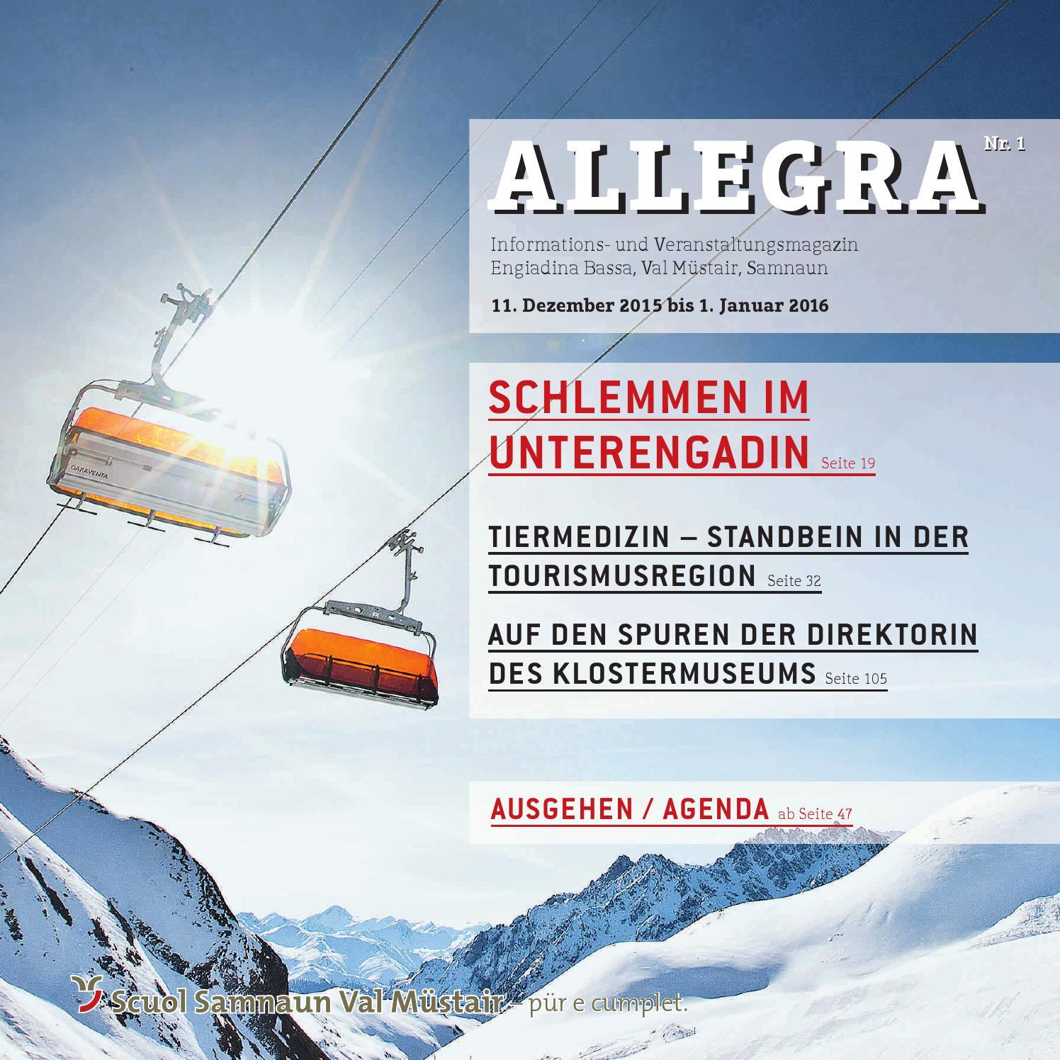 Allegra by Tourismus Engadin Scuol Samnaun Val Müstair AG - issuu