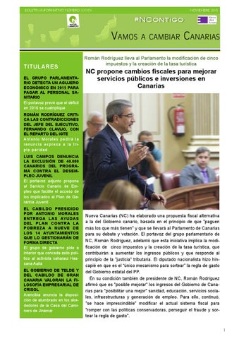 d3bf5367ea9a1 Boletín XXXIX noviembre 2015 by Nueva Canarias - issuu
