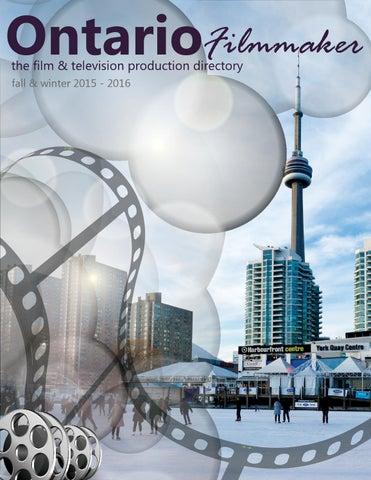 Ontario Filmmaker Directory Fall Winter 2015 2016 By Ontario