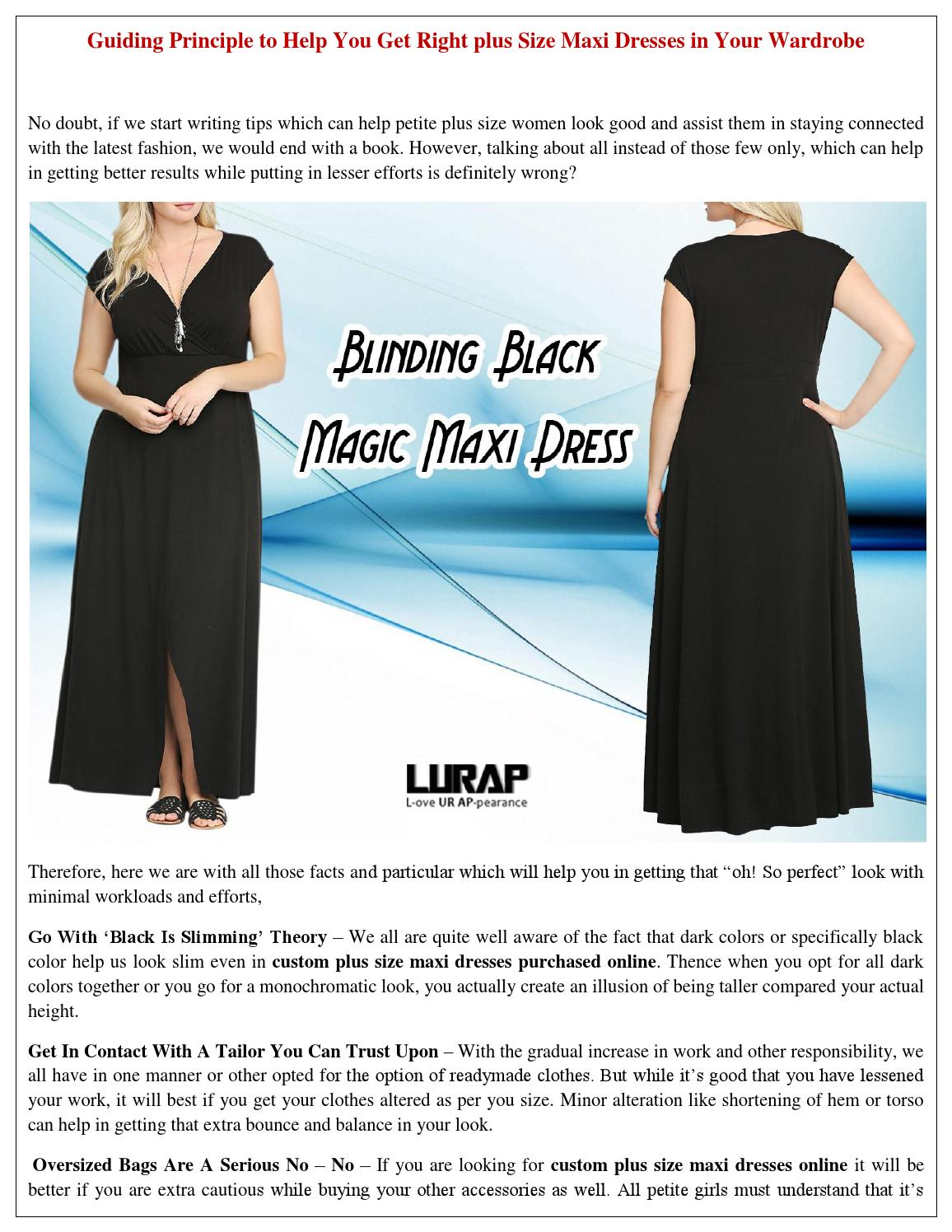 57f6b63b Get right plus size maxi dresses in your wardrobe by Lurap Fashion - issuu