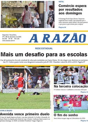 29678a1948784 Jornal A Razão 07 e 08 12 2015 by Jornal A Razão - issuu
