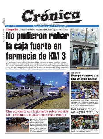 760672594c Ba420f62e585c1cc819d96908f826bce by Diario Crónica - issuu