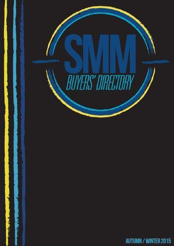 SMM Buyers Directory Autumn Winter 2015