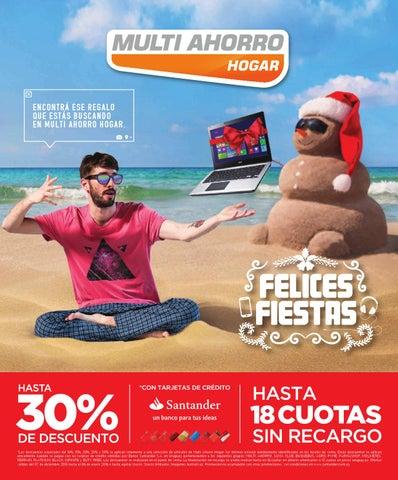 Catálogo Multi Ahorro Hogar Navidad 2015 by Deptodigital - issuu 223d2ce07da5