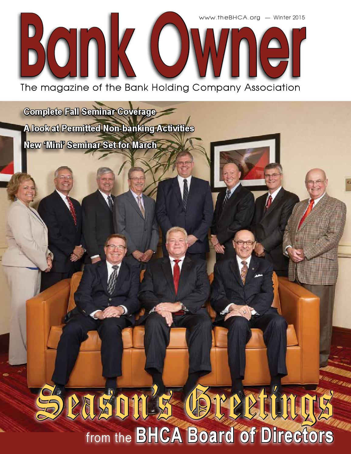 bank owner 4th quarter 2015tom bengtson - issuu