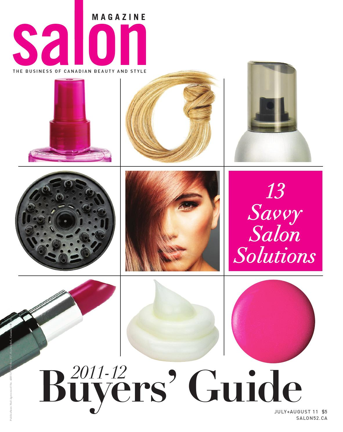 Salon Magazine July August 2011 By Communications Inc Issuu Armando Caruso 715 Angled Contour Brush