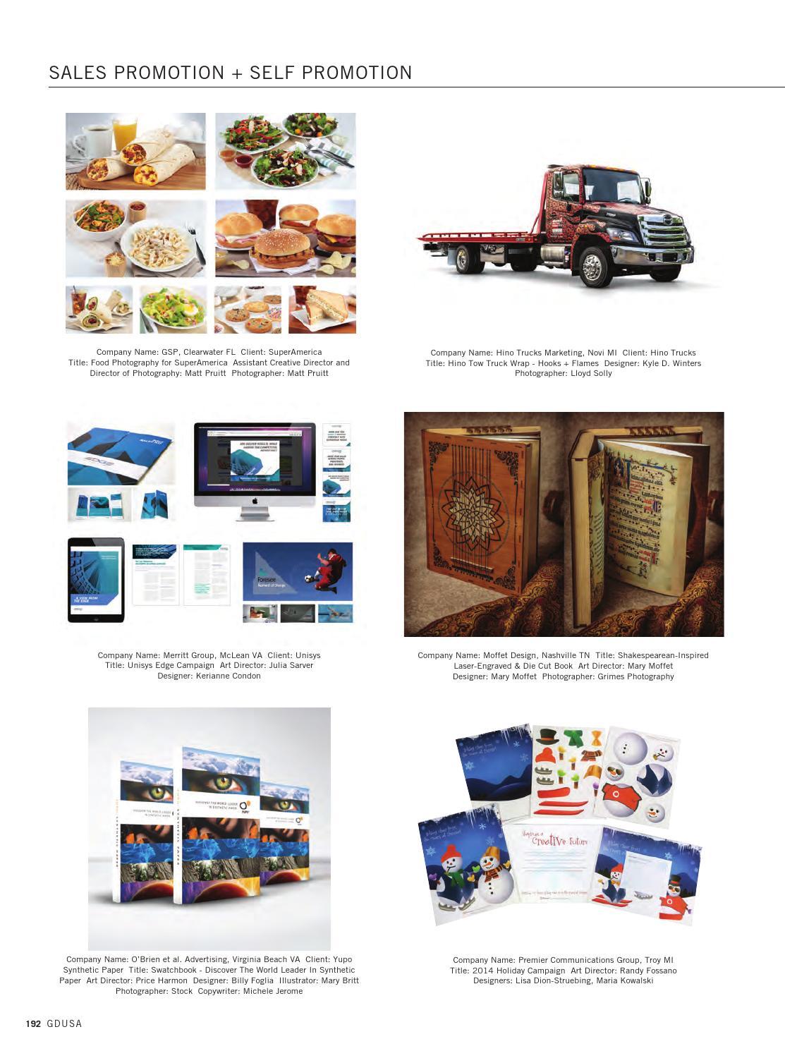 November/December 2015 GDUSA Magazine by Graphic Design USA