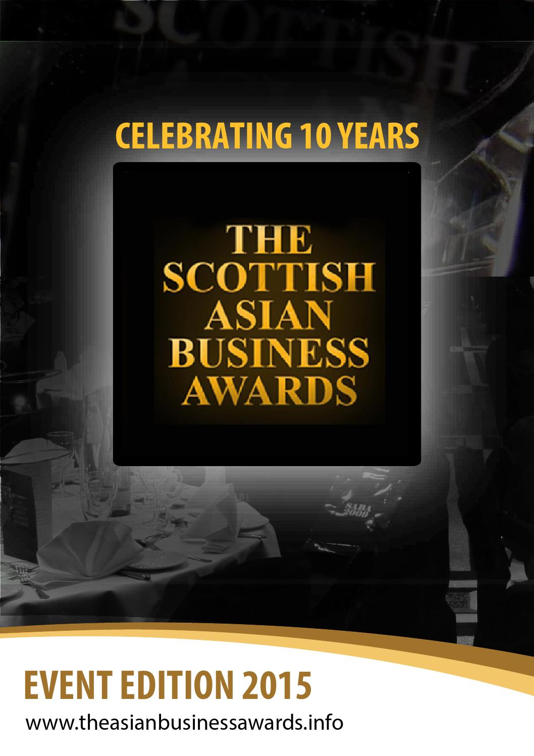 event sponsor proposal%0A The Scottish Asian Business Awards Event Edition      by OceanicConsulting   issuu