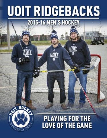 2015 16 UOIT Ridgebacks Men's Hockey by UOIT Ridgebacks issuu