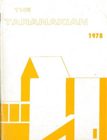1ca2efcc19 1978 The Taranakian Vol. 67 No. 1 December by New Plymouth Boys ...