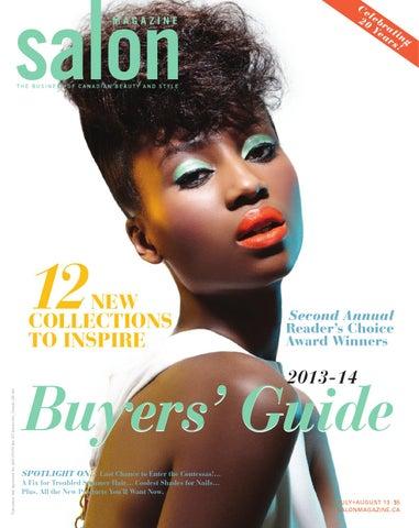 0cde46eda27 Salon Magazine, July/August 2013 by Salon Communications Inc. - issuu