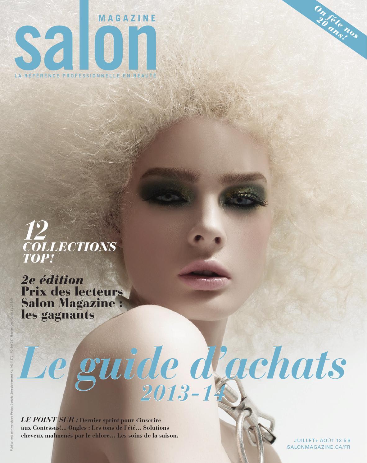Hair amp nail choices aiibeauty - Salon Magazine Dition Fran Ais Juillet Ao T 2013 By Salon Communications Inc Issuu