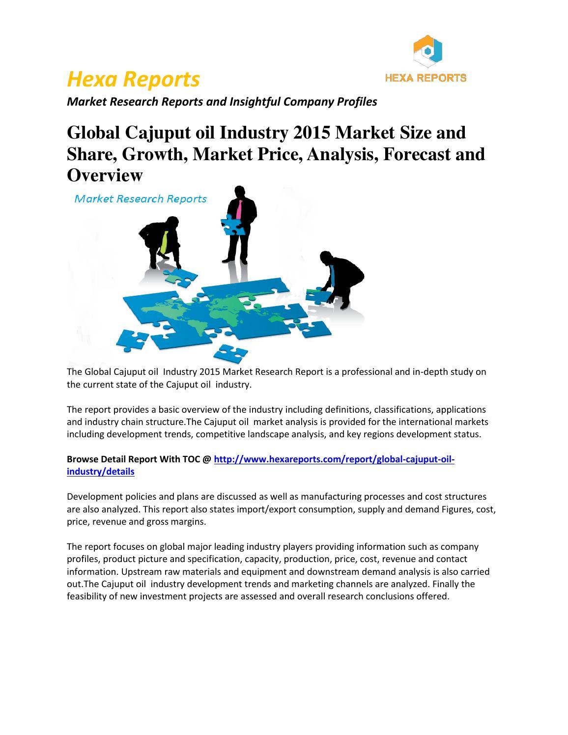 oil market structure