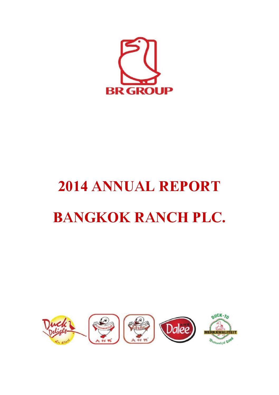 BR : Annual Report 2014 by ar br - issuu