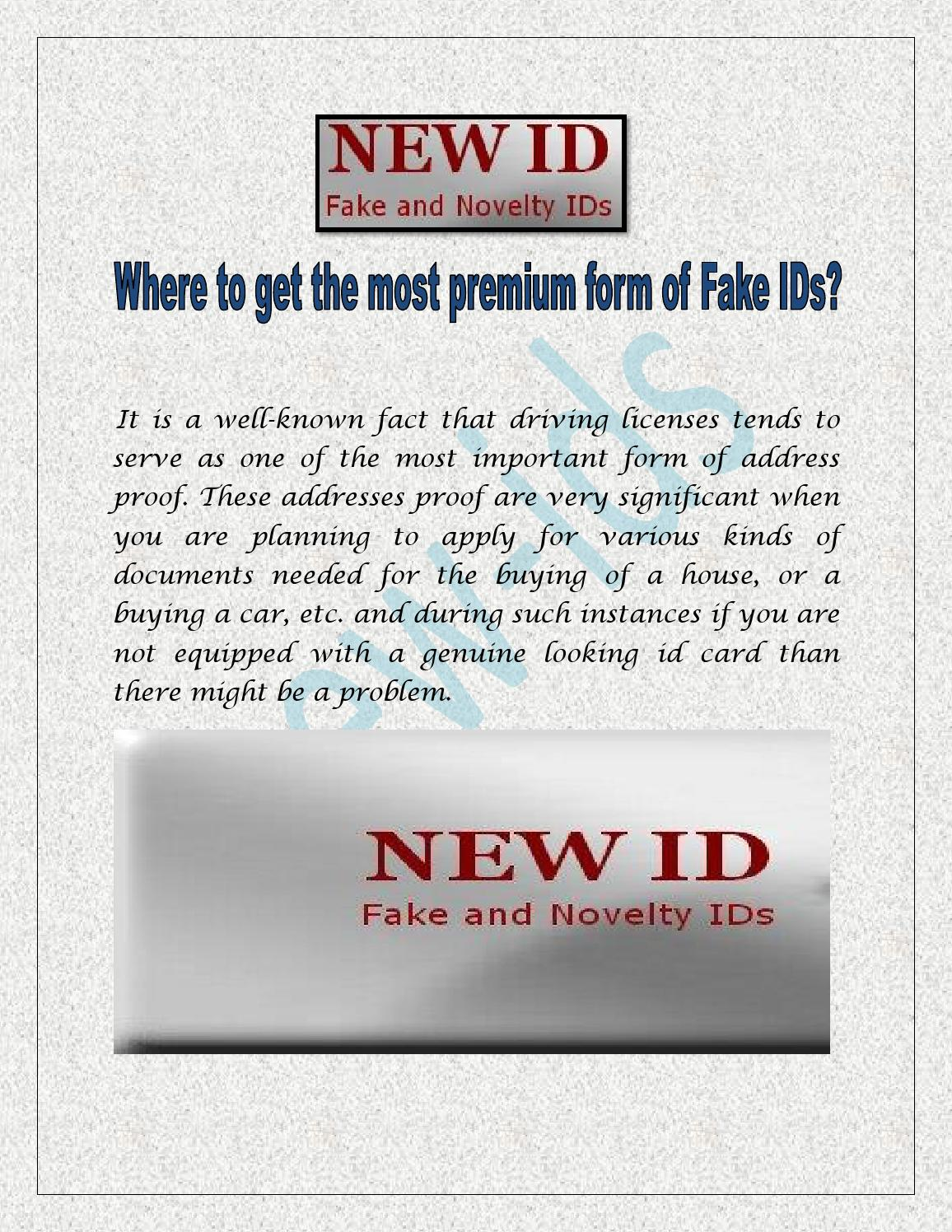how to get a fake id