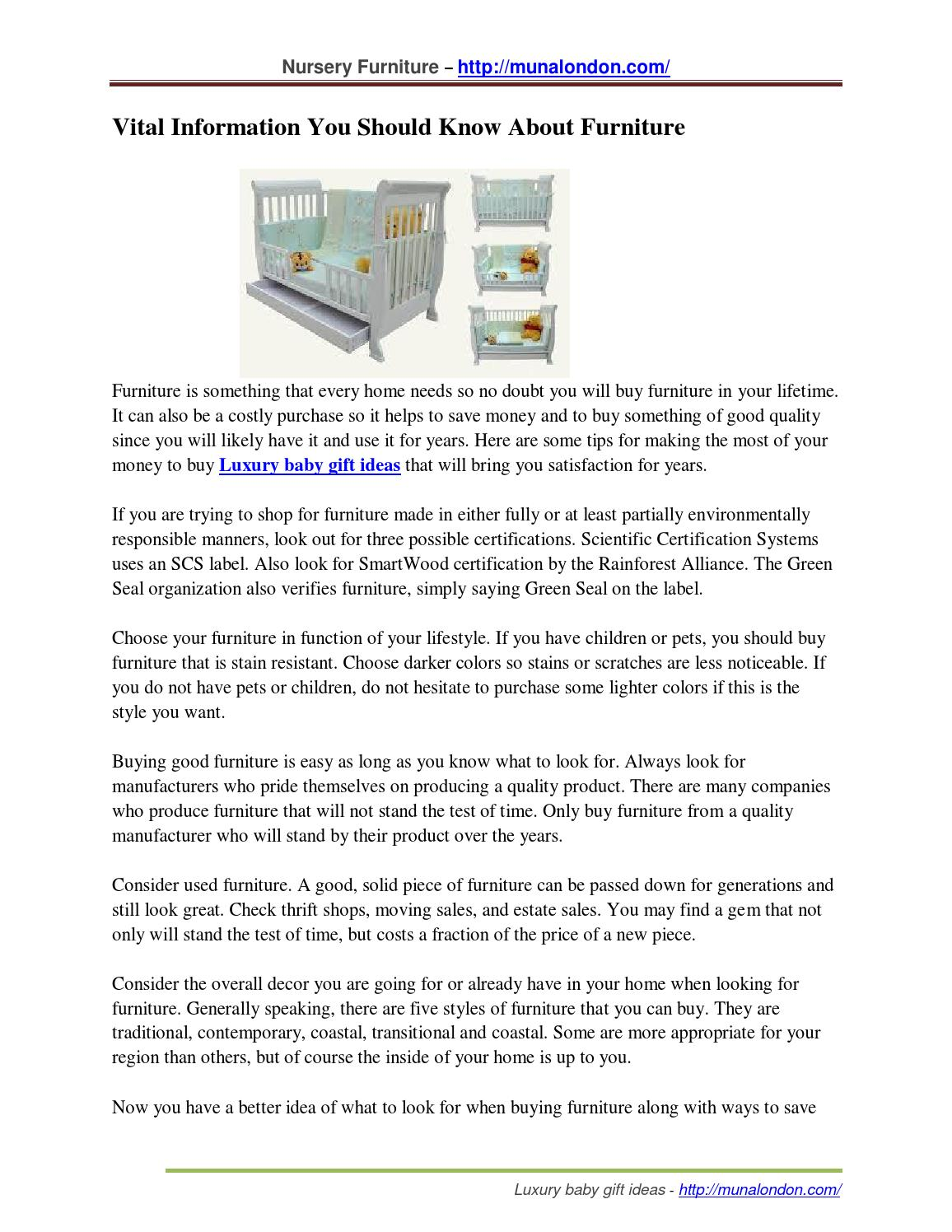 Vital Information You Should Know About Furniture By Omarbratton Issuu