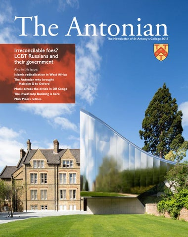 473507caf3 The Antonian Newsletter 2015 by St Antony s College - issuu