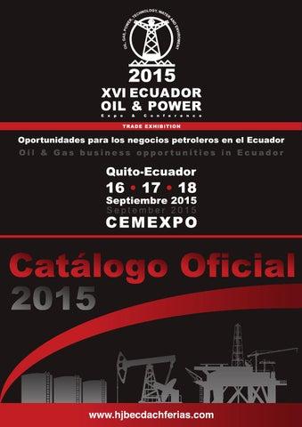 cat225logo oficial xvi ecuador oilamppower 2015 by artes