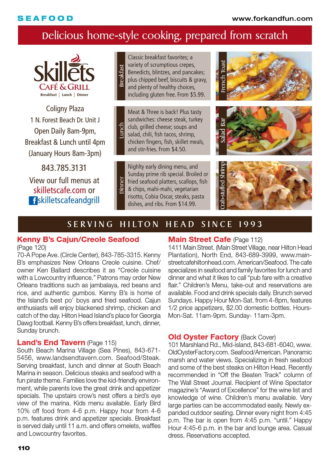 Fork and Fun Hilton Head Winter by Hilton Head Monthly - issuu