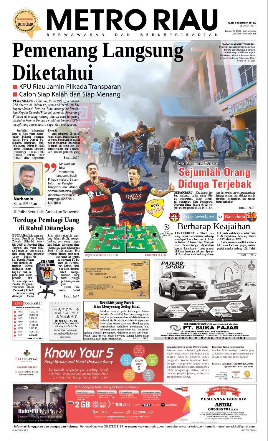 09122015 by harian pagi metro riau issuu