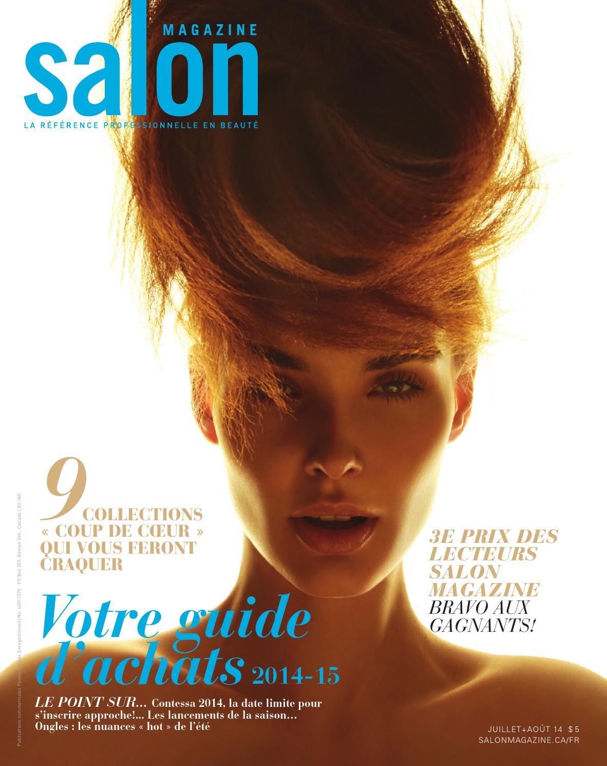 Hair amp nail choices aiibeauty - Salon Magazine Dition Fran Ais Juillet Ao T 2014 By Salon Communications Inc Issuu