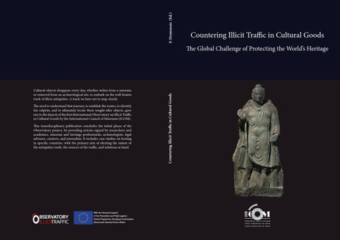 9f91628b78b92 Countering Illicit Traffic in Cultural Goods The Global Challenge of ...