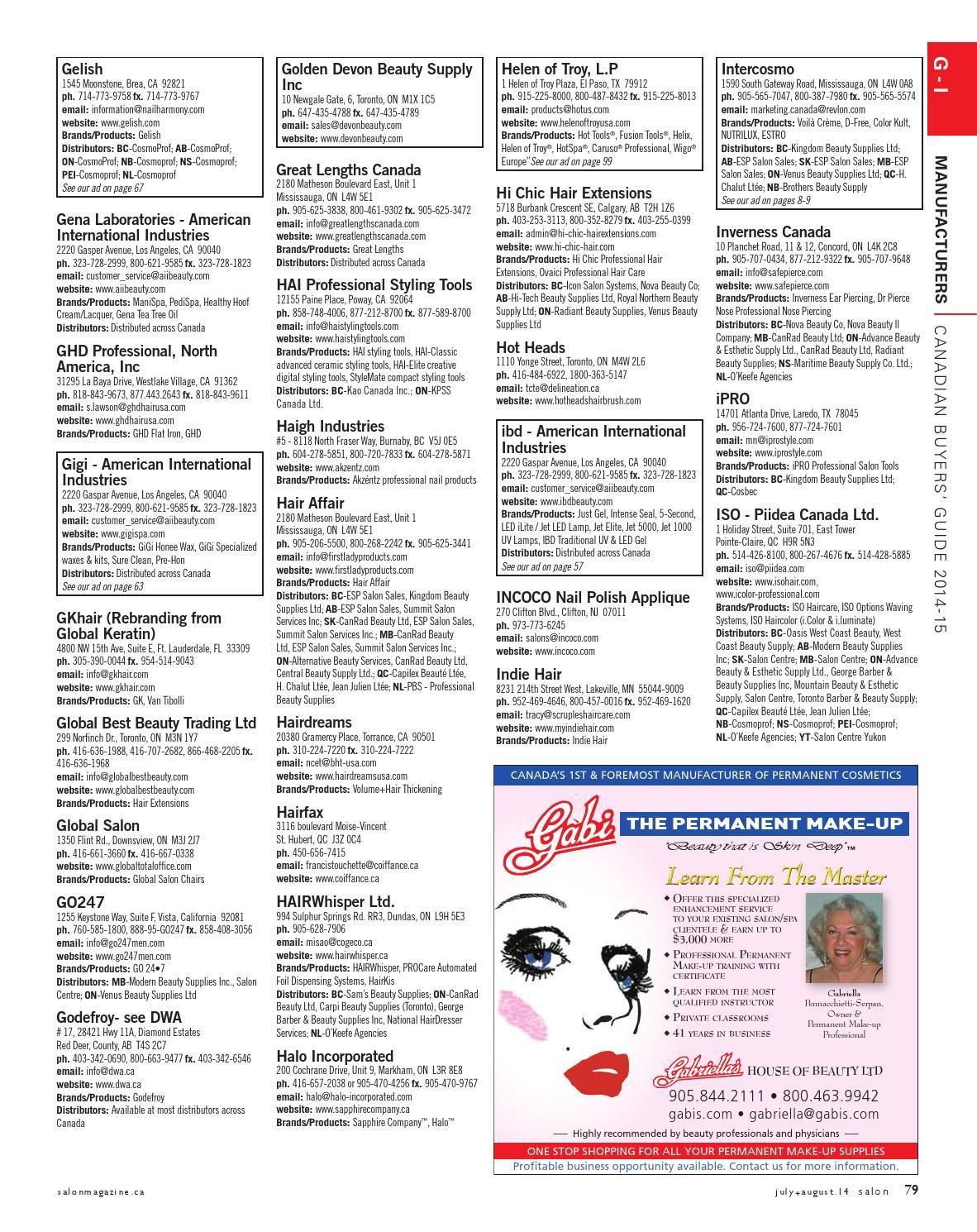Salon Magazine, July/August 2014