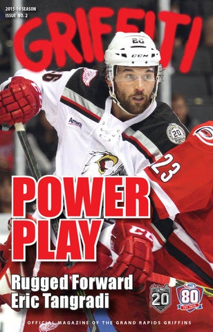 3d68f8b30 2015-16 Griffiti - Issue #2 by Grand Rapids Griffins - issuu