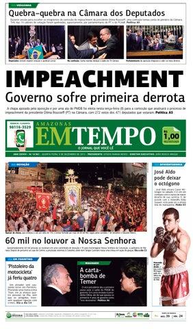 ed56e0353ab62 EM TEMPO - 9 de dezembro de 2015 by Amazonas Em Tempo - issuu
