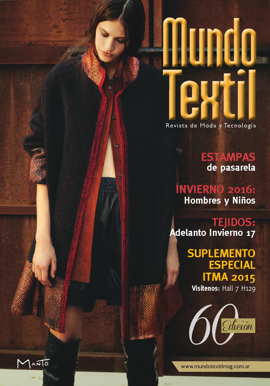 new product 4620d d44c2 Mundo textil 60 by Andrea Lippi - issuu