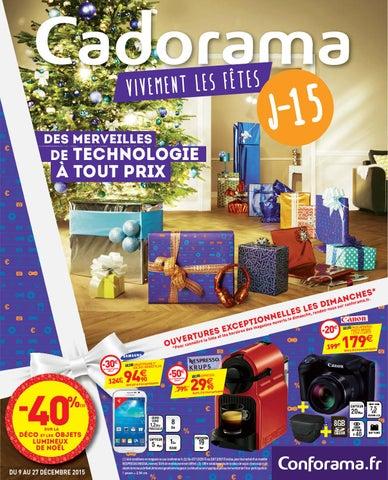 Conforama Catalogue 9 27decembre2015 By Promocataloguescom