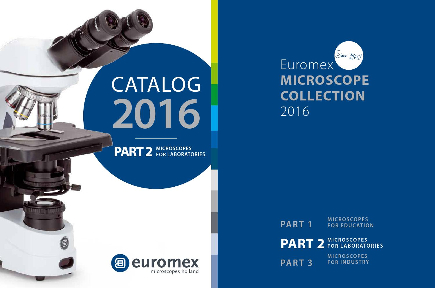 Euromex Catalogus 2016 Laboratories By Pro Lehrsysteme Issuu Analog Digital Circuits Proteus Isis 120x120