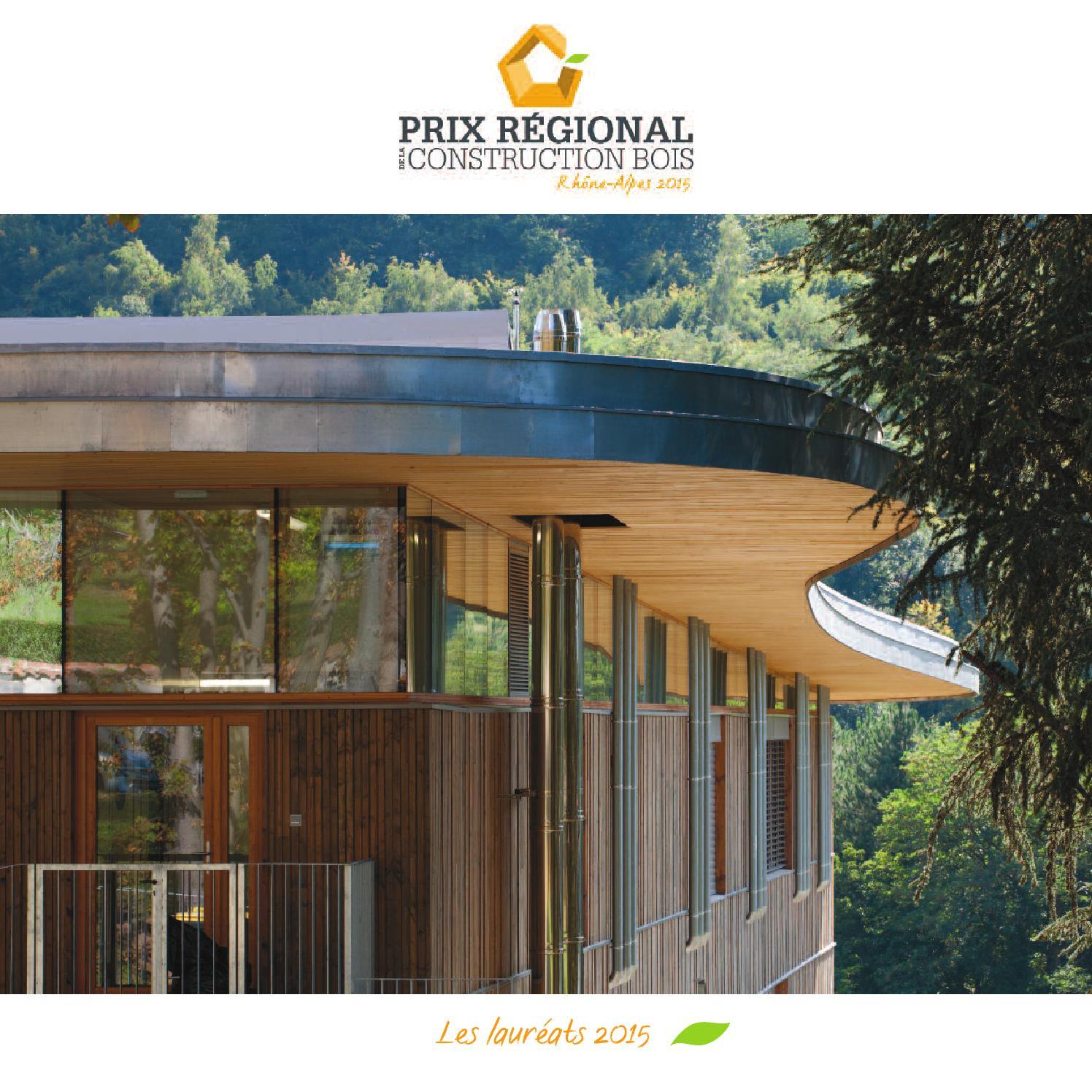 Livre prix r gional de la construction bois rh ne alpes 2015 by fibra issuu for Livre construction bois