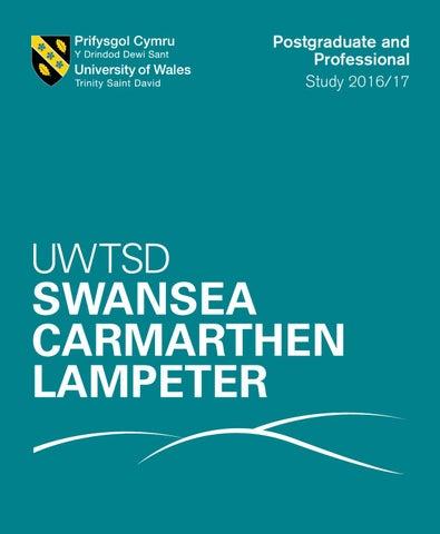 Postgraduate Prospectus by University of Wales Trinity Saint