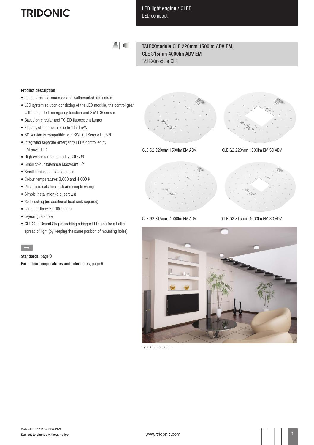 Tridonic Cle G2 220mm By Hazel Newbery Issuu Wires And Functional Addition Ceiling Can Possible That The Kind
