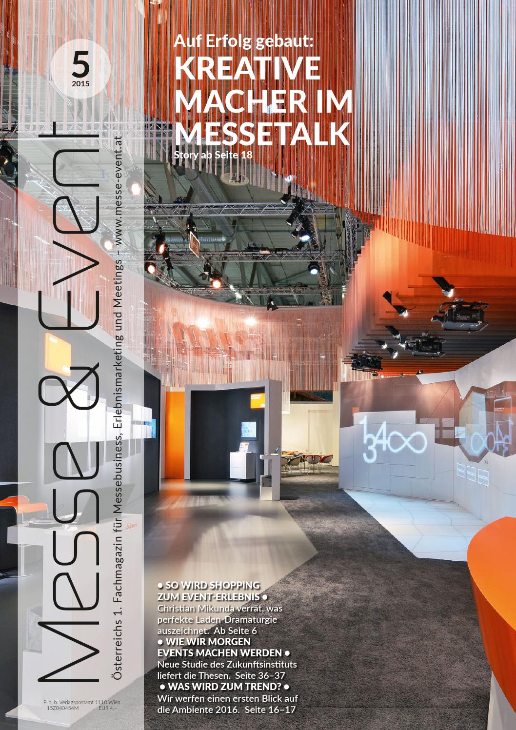 Messe & Event 5/2015 by Messe & Event Magazin - issuu