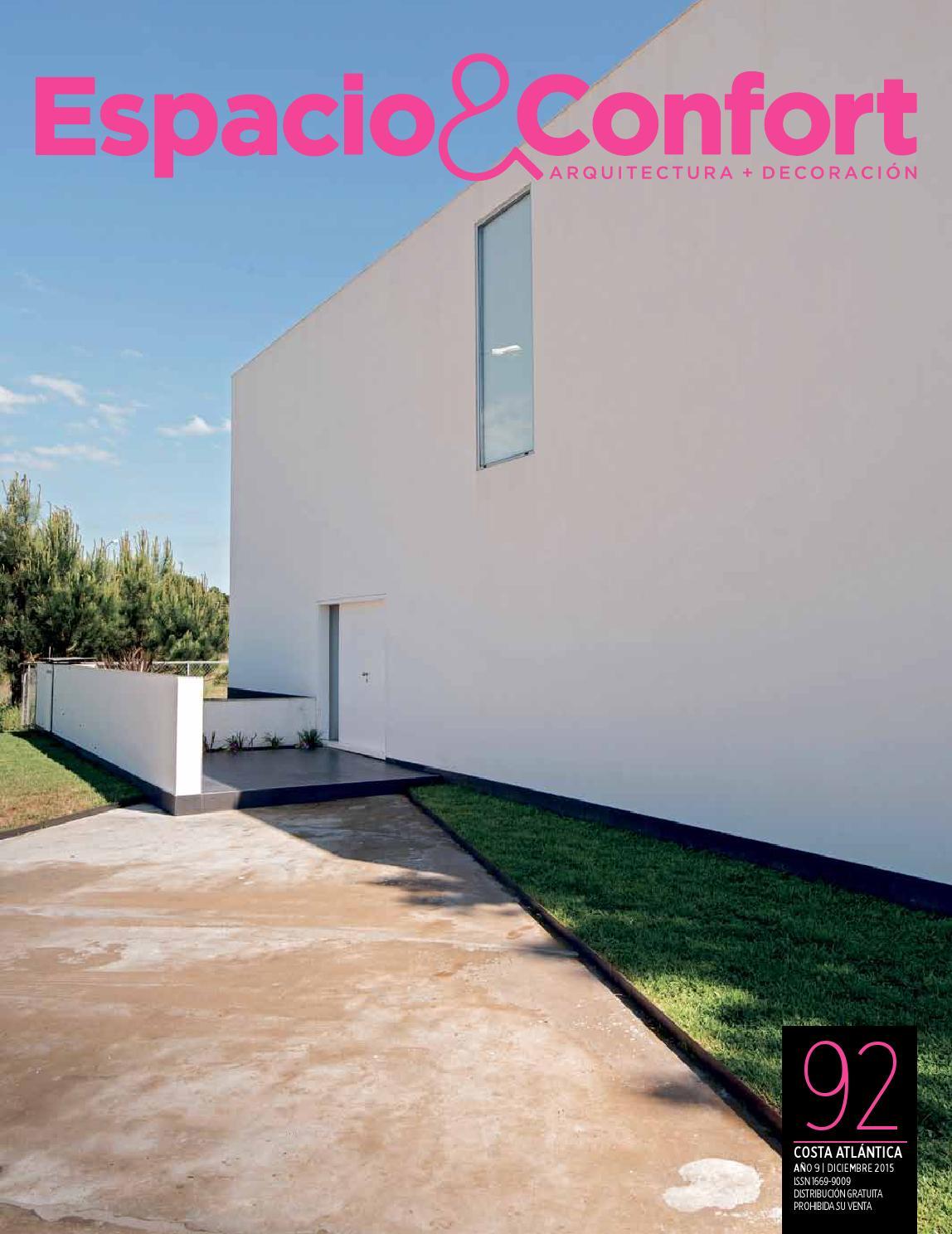 92 Costa Diciembre By Revista Espacio Confort Arquitectura  # Muebles Luberto Mdp