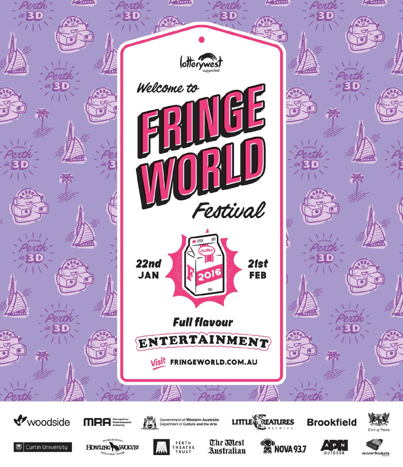 Fringe World 2016 Festival Guide By Issuu The 5 Circuit Meander Labyrinth