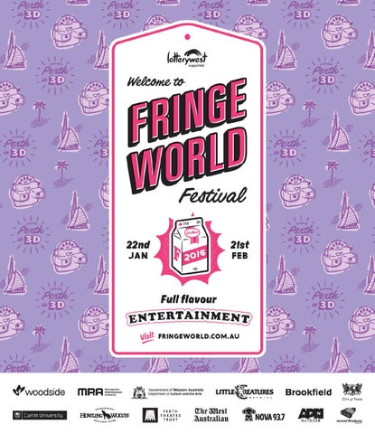 7a387d62df3d3 FRINGE WORLD 2016 Festival Guide by Fringe World Festival - issuu