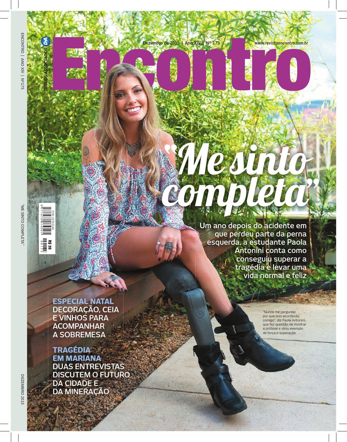 Revista Encontro 175 by Editora Encontro - issuu 3580f32ee6e77