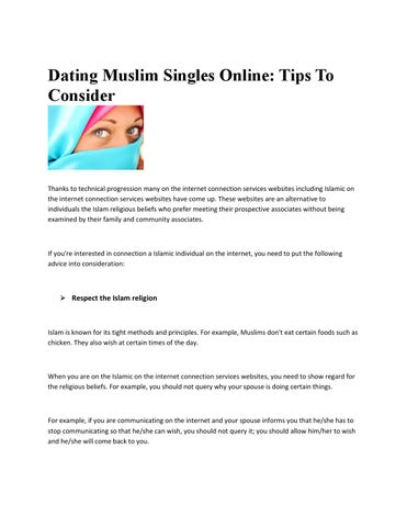 Muslim singles meet and mingle