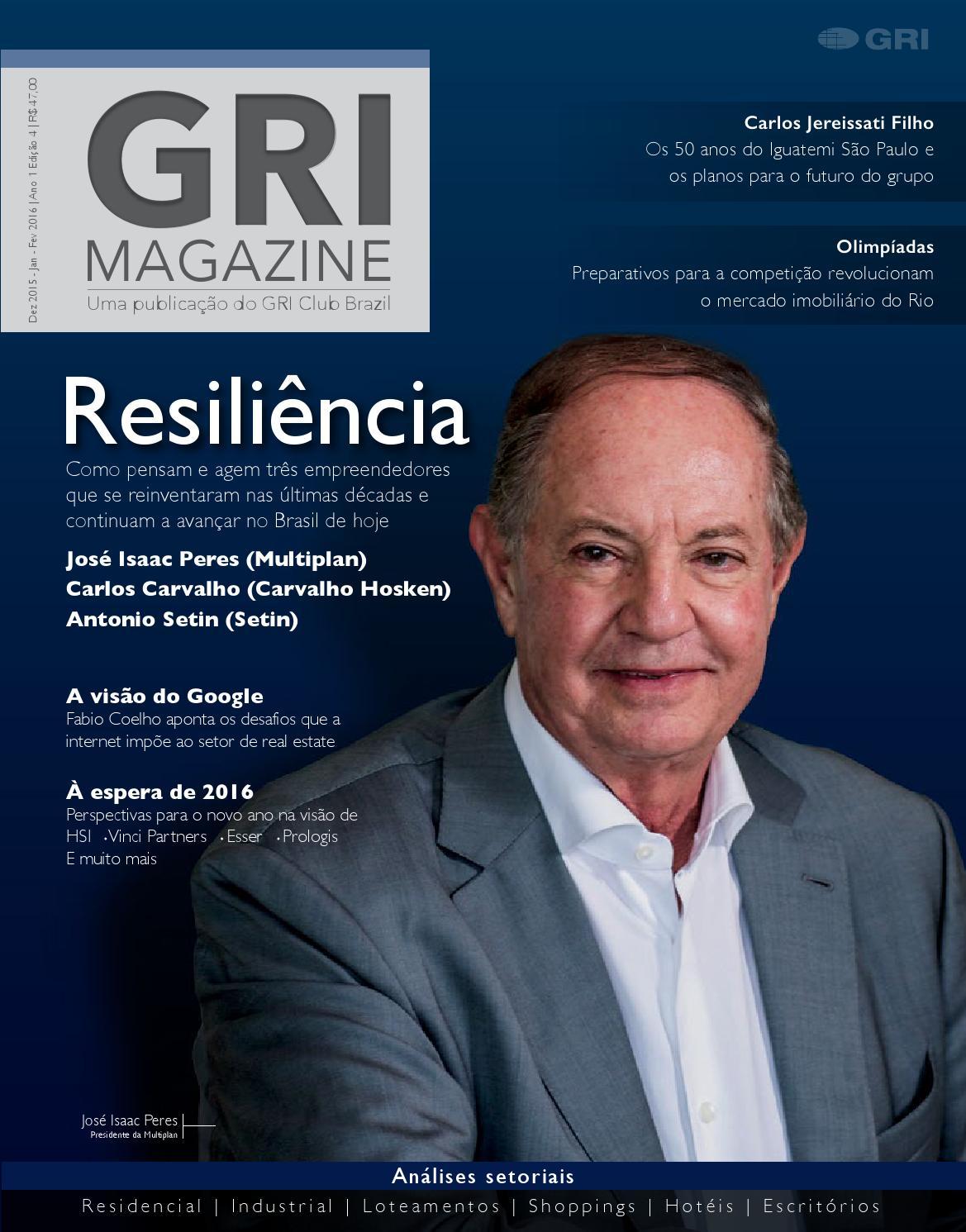 GRI Magazine 4ª Edição by GRI Club - issuu 476f4284ee