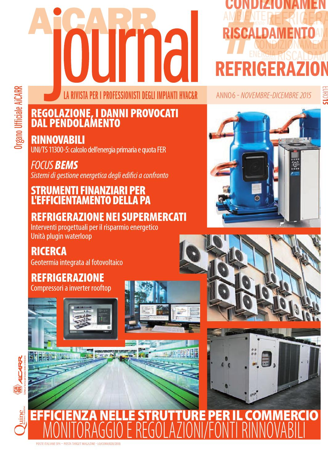AiCARR Journal  35 - Efficienza energetica nelle strutture per il commercio  by Quine Business Publisher - issuu fe48cb38d80
