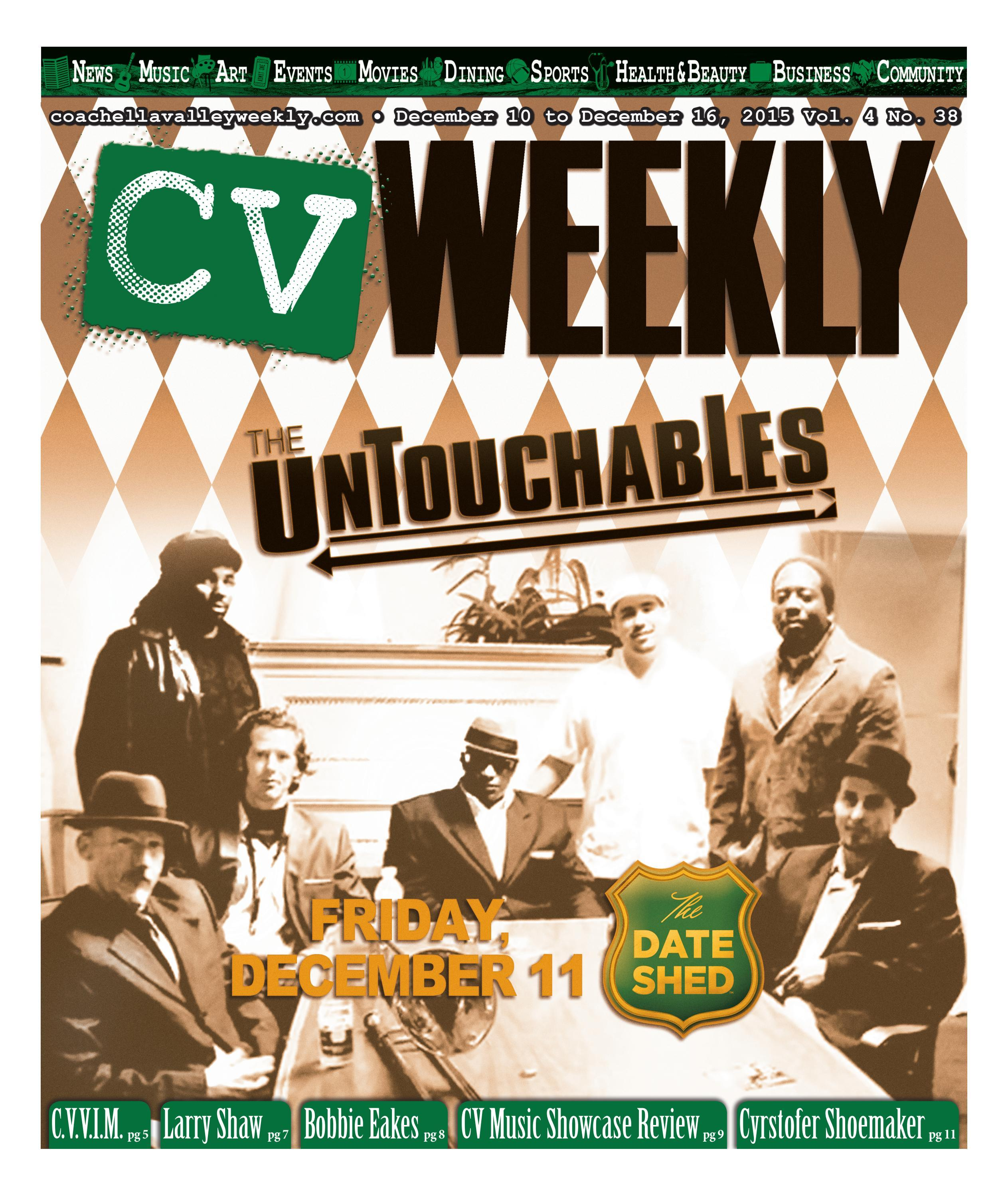 Coachella Valley Weekly - December 10 to December 16, 2015