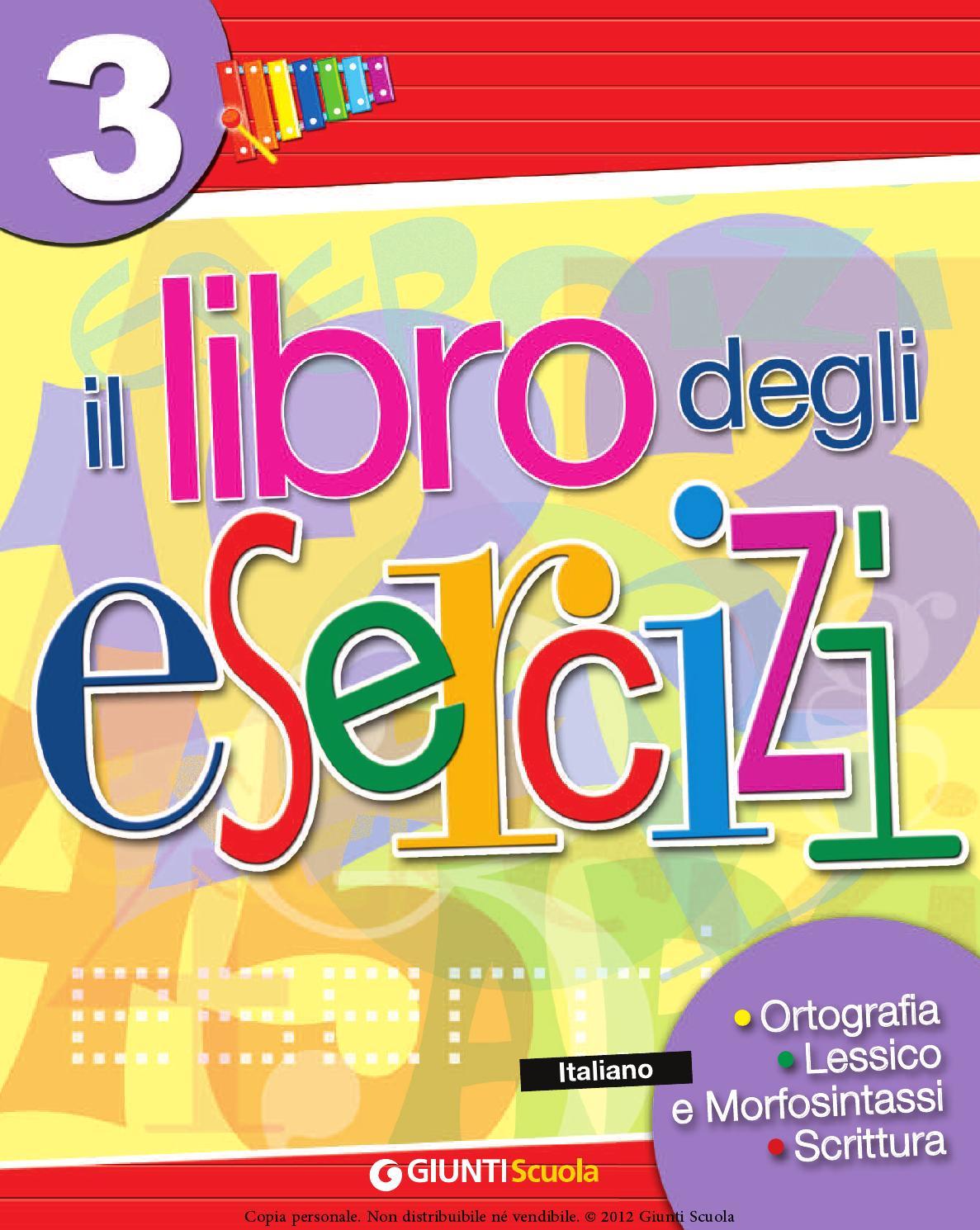 libro degli esercizi 3 rosso by elvira ussia - issuu - Giardino Piccolo Nome Alterato
