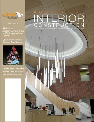 Acoustical Interior Construction Magazine By Association Publishing