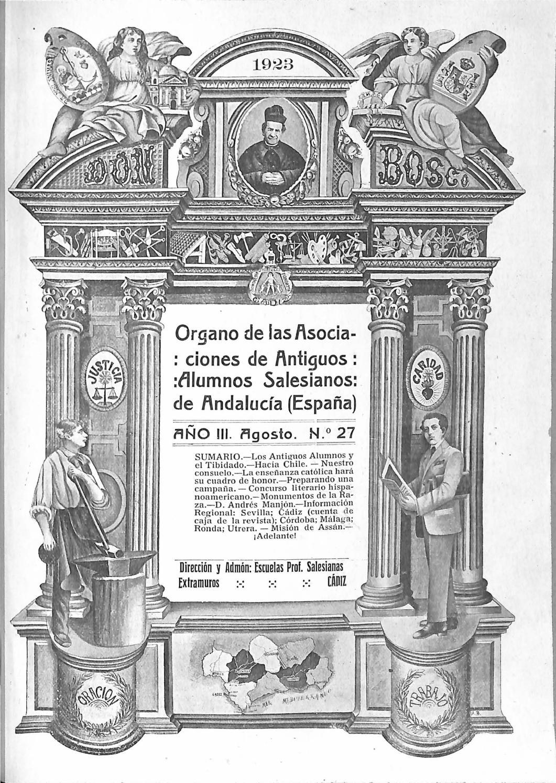 Don bosco (andalucia) año iii nº 27 agosto 1923 by Asociacion de AA ...