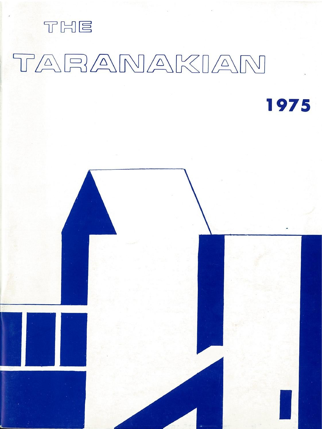 1975 The Taranakian Vol  64 No  1 December by New Plymouth Boys