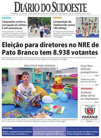 9ed2c87716 Diário do sudoeste 10 de dezembro de 2015 ed 6529 by Diário do ...