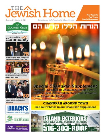 Five Towns Jewish Home 12 10 15 By Yitzy Halpern Issuu